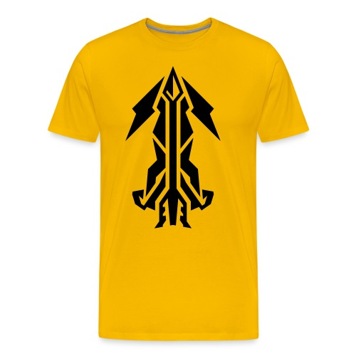 Critical Stryke [BLAPCK] - Men's Premium T-Shirt