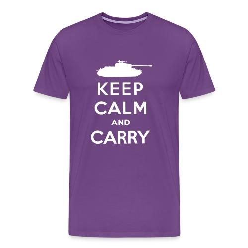 Keep Calm and Carry - Men's Premium T-Shirt