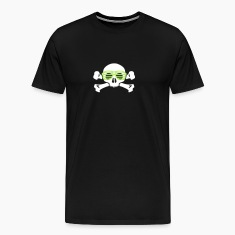 skull and glasses geek nerd T-Shirts