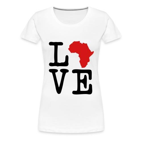 Love Africa - Women's Premium T-Shirt