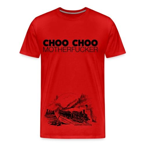 Pubtrain - Men's Red - Men's Premium T-Shirt