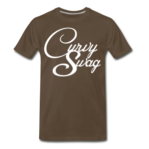 Curvy Girl Swag Shirt (3xl-4xl) - Men's Premium T-Shirt
