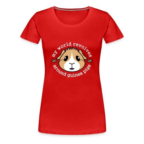 'My World Revolves...' Ladies Plus-Size T-Shirt - Women's Premium T-Shirt