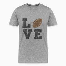 Vintage Football Love T-Shirts