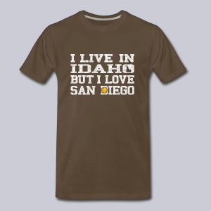 Live Idaho Love San Diego - Men's Premium T-Shirt
