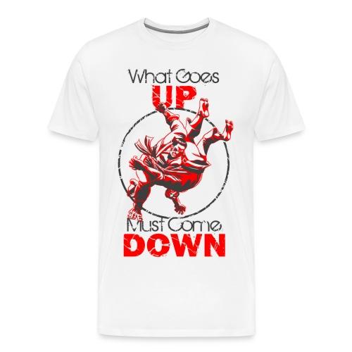 Judo What Comes Up - Men's Premium T-Shirt