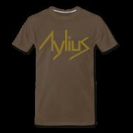 T-Shirts ~ Men's Premium T-Shirt ~ Men's Metallic Gold Tee