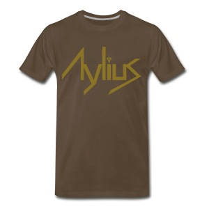 Men's Metallic Gold Tee - Men's Premium T-Shirt