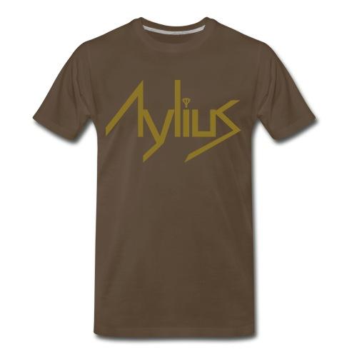 Men's Metallic Gold Tee - Men's Premium T-Shirt