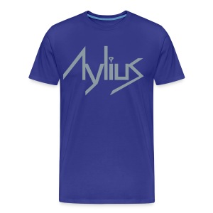 Men's Metallic Silver Tee - Men's Premium T-Shirt