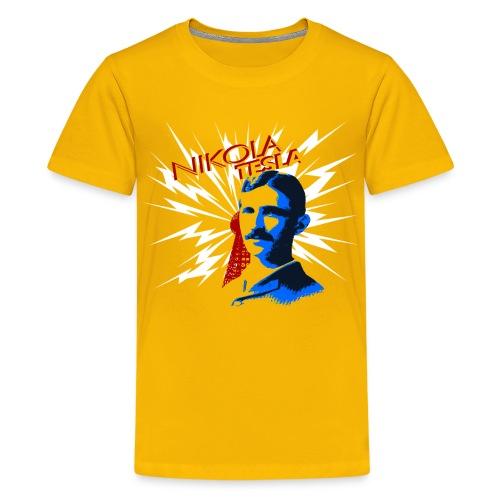 Nikola Tesla - Kids' Premium T-Shirt