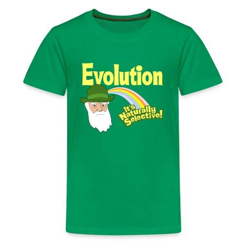 Evolution - it's Naturally Selective - Kids' Premium T-Shirt