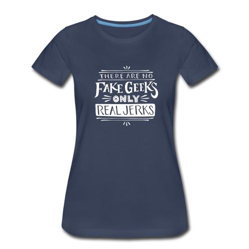 Women's Real Jerks Plus-Size Tee - Women's Premium T-Shirt