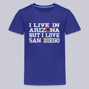 Live Arizona Love San Diego - Kids' Premium T-Shirt