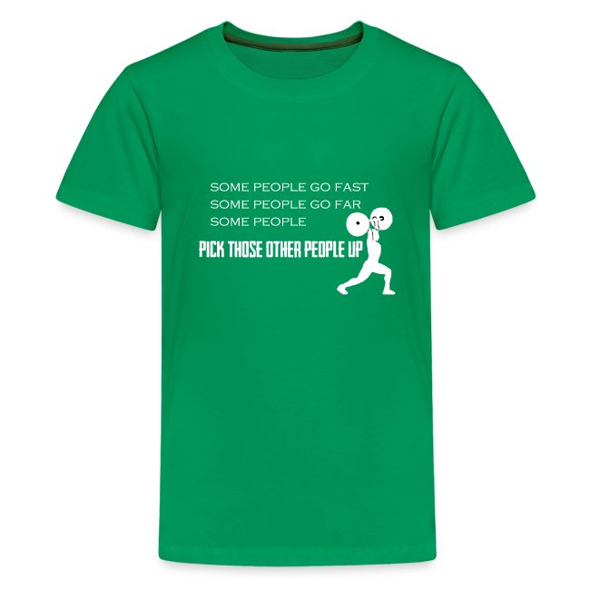 Pick People Up Kid's Shirt