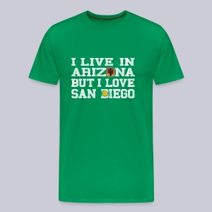 Live Arizona Love San Diego - Men's Premium T-Shirt