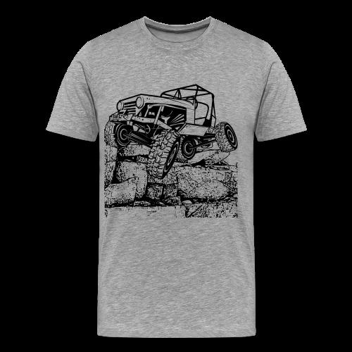 Big Rock Crawling Jeep - Men's Premium T-Shirt