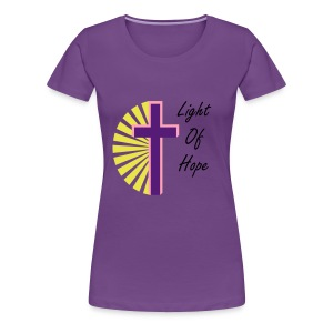 Light Of Hope - Women's Premium T-Shirt
