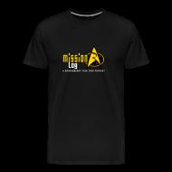 T-Shirts ~ Men's Premium T-Shirt ~ Mission Log - Logo Front