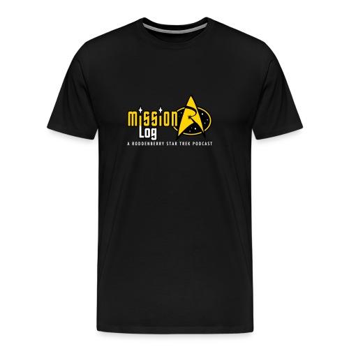 Mission Log - Logo Front - Men's Premium T-Shirt