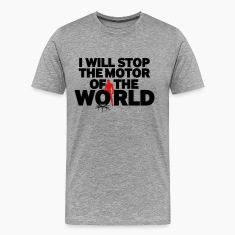 I WILL STOP THE MOTOR
