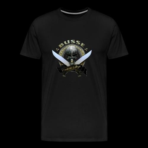 Custom Shop Skull Mens Tee - Men's Premium T-Shirt