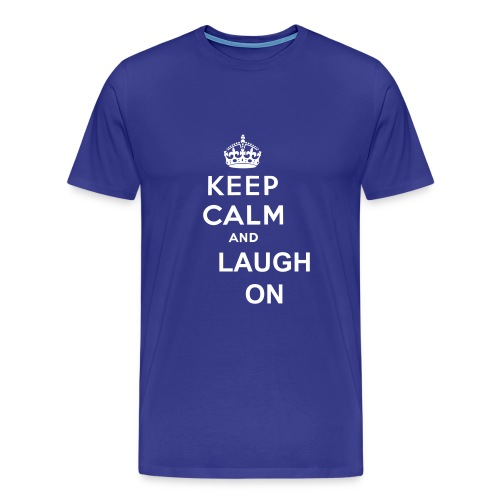 First State Comedy - Keep Calm Tee - Men's Premium T-Shirt