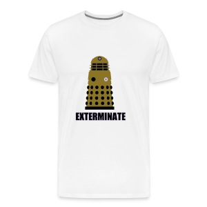 EXTERMINATE!  Dr. Who Dalek T-Shirt - Men's Premium T-Shirt