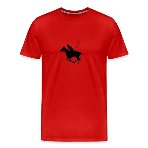 Polo Pony Silhouette - Men's Premium T-Shirt
