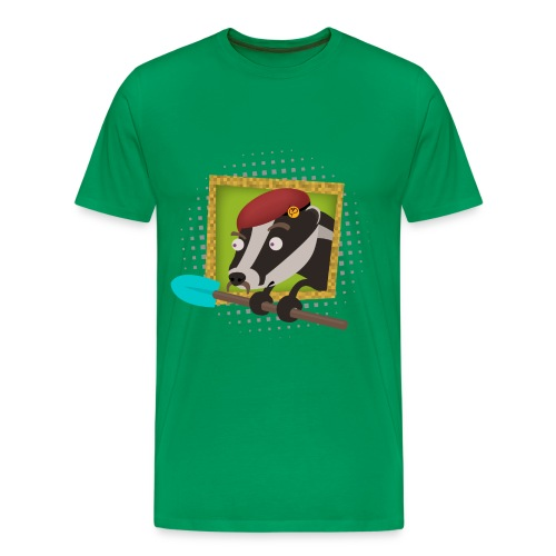 Minecraft Badger - Men's Premium T-Shirt