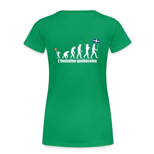 Mon pays, ma patrie (femme) - Women's Premium T-Shirt