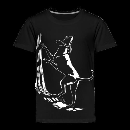 Hound Dog Baby Shirts Hunting Dog Toddler Shirts  - Toddler Premium T-Shirt