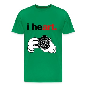 I heART Photography - Men's Premium T-Shirt
