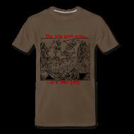 T-Shirts ~ Men's Premium T-Shirt ~ Dead Party (Black) - Heavy Weight Men's Shirt