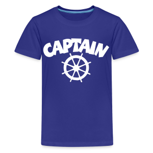 Captain Wheel T-Shirt (Blue) Kids - Kids' Premium T-Shirt