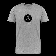 T-Shirts ~ Men's Premium T-Shirt ~ ABDZ Grey Tee
