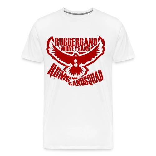 RBMG Bird White & Red - Men's Premium T-Shirt