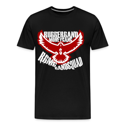 RBMG Bird Black & Red - Men's Premium T-Shirt