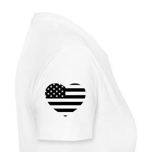 Women's Heart On My Sleeve Tee - Women's Premium T-Shirt