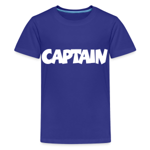 Captain T-Shirt (Blue) Kids - Kids' Premium T-Shirt