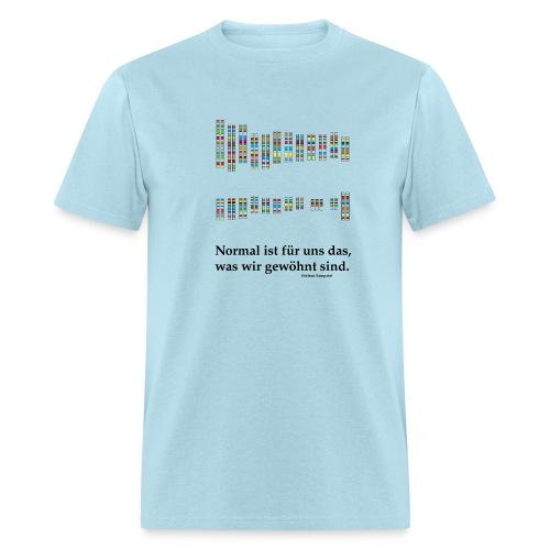 Down's Syndrome Trisomie T-Shirt Blue - Men's T-Shirt