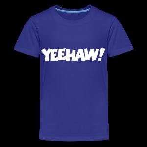 Yeehaw T-Shirt (Blue) Kids - Kids' Premium T-Shirt