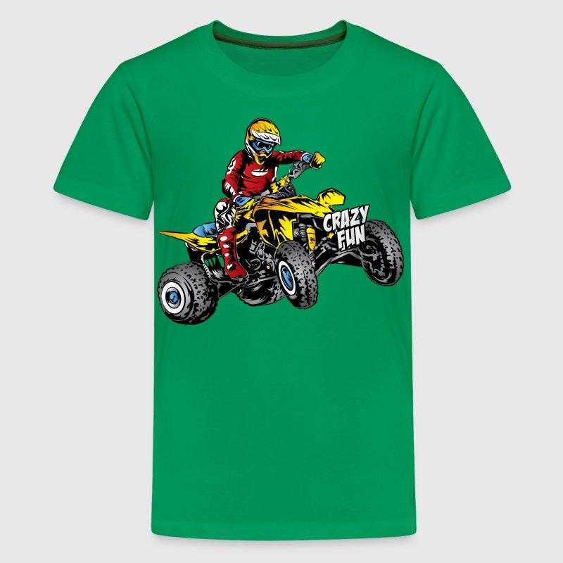 Crazy Fun Quad Rider T Shirt Spreadshirt