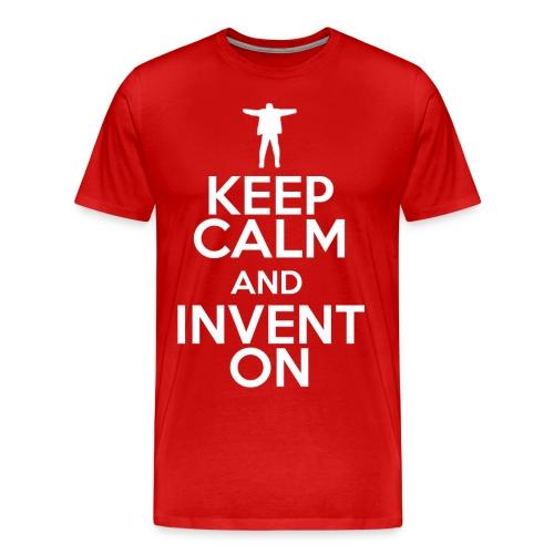 Keep Calm (Mens 3XL-4XL) - Men's Premium T-Shirt