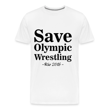 Save Olympic Wrestling T-Shirts