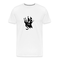 T-Shirts ~ Men's Premium T-Shirt ~ Jolly Swan Roger