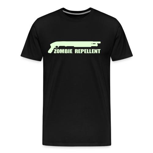 Zombie Repellent Glow in the Dark Shirt for Men - Men's Premium T-Shirt