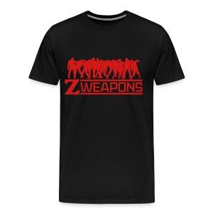Zombie Weapons Shirt for Men - Men's Premium T-Shirt