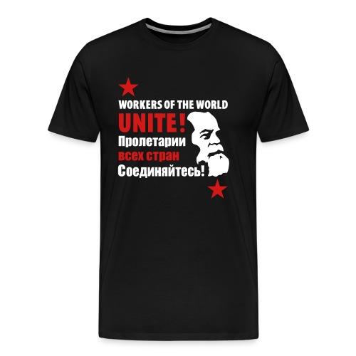 Marxist Workers 3/4XL T-Shirt - Men's Premium T-Shirt