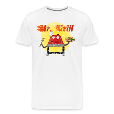 Vintage Distressed Mr. Grill T-shirt